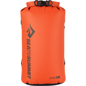 Sea to Summit Big River Sac de compression étanche 20l, orange/red